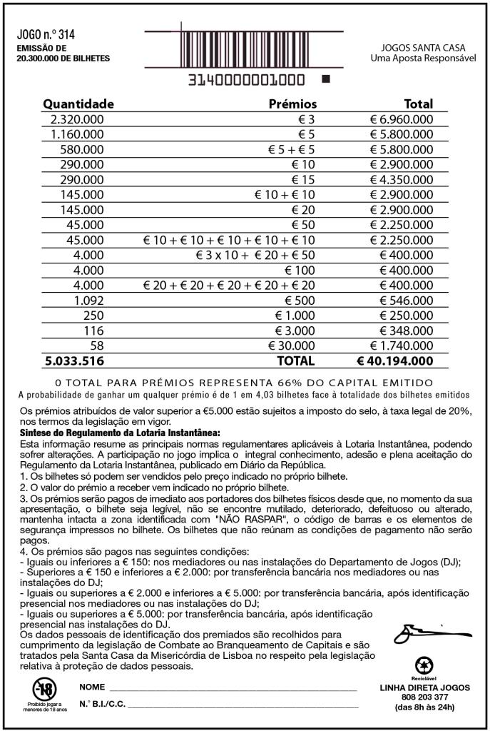 Estatisticas lotaria popular